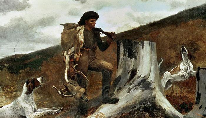 Thợ săn và bầy chó