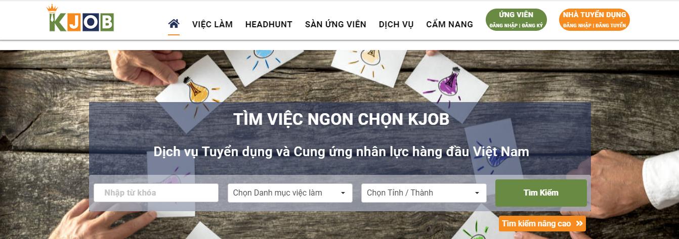 Website-tuyen-dung-va-tim-viec-lam-mien-phi-kjob.vn_